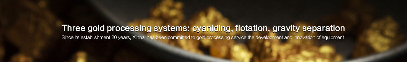 Xinhai three gold processing systems