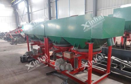 Xinhai gold gravity separation process