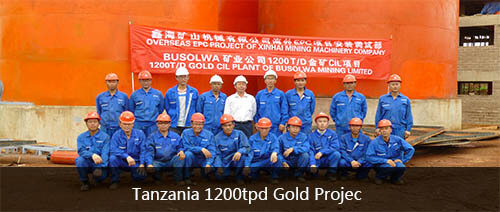 Tanzania 1200tpd Gold Project