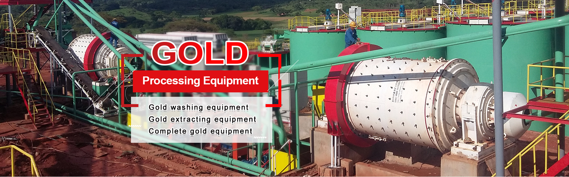 Special Equipment for Gold Beneficiation