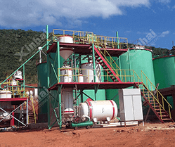 Zimbabwe 700t/d Gold Mineral Processing Plant
