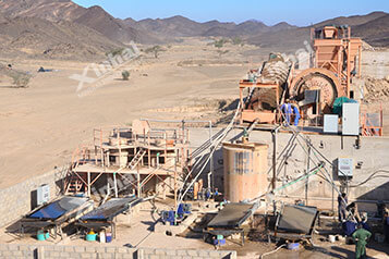 Xinhai Sudan 500t/d Gold Project11