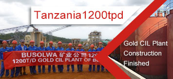 Xinhai Tanzania 1200tpd Gold CIL Plant Construction Finished