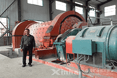 Cylinder Energy-Saving Overflow Ball Mill-case