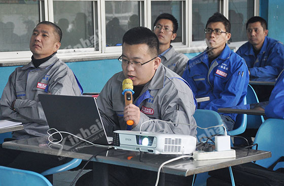 Xinhai Mining Carried out Safety Production Training.