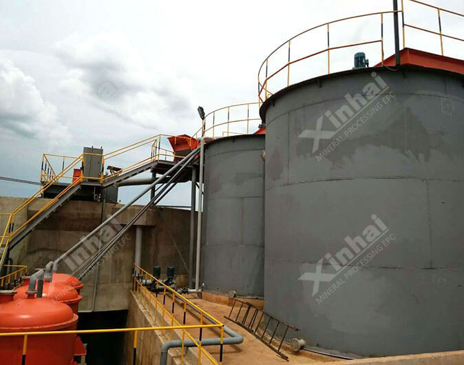 Tanzania 600t/d Gold Mineral Processing Plant