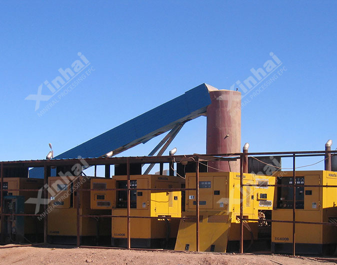 Mongolia 1,000t/d Gold Mineral Processing Plant